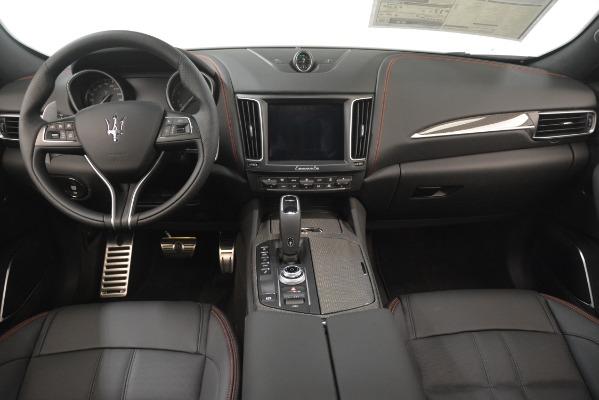 New 2019 Maserati Levante SQ4 GranSport Nerissimo for sale Sold at Alfa Romeo of Greenwich in Greenwich CT 06830 16