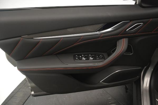 New 2019 Maserati Levante SQ4 GranSport Nerissimo for sale Sold at Alfa Romeo of Greenwich in Greenwich CT 06830 17