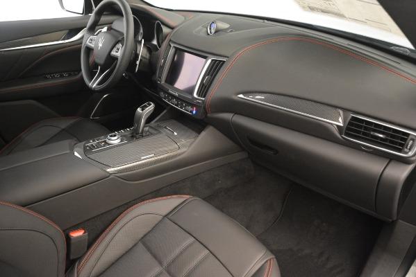 New 2019 Maserati Levante SQ4 GranSport Nerissimo for sale Sold at Alfa Romeo of Greenwich in Greenwich CT 06830 22