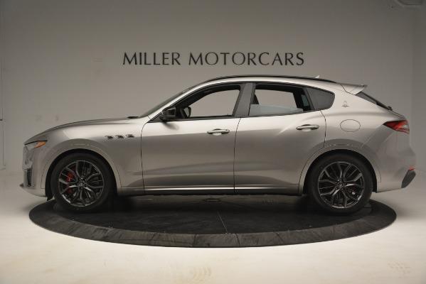 New 2019 Maserati Levante SQ4 GranSport Nerissimo for sale Sold at Alfa Romeo of Greenwich in Greenwich CT 06830 3