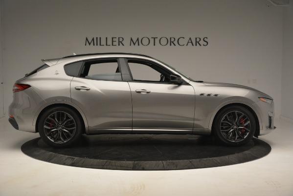 New 2019 Maserati Levante SQ4 GranSport Nerissimo for sale Sold at Alfa Romeo of Greenwich in Greenwich CT 06830 9