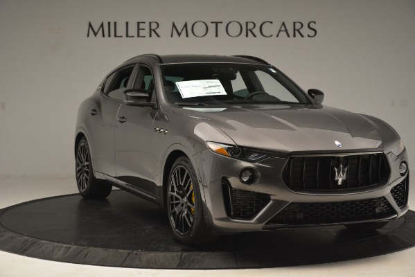 New 2019 Maserati Levante SQ4 GranSport Nerissimo for sale Sold at Alfa Romeo of Greenwich in Greenwich CT 06830 11