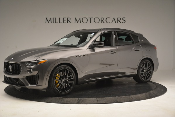 New 2019 Maserati Levante SQ4 GranSport Nerissimo for sale Sold at Alfa Romeo of Greenwich in Greenwich CT 06830 2