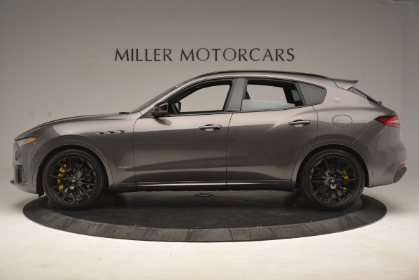 New 2019 Maserati Levante SQ4 GranSport Nerissimo for sale Sold at Alfa Romeo of Greenwich in Greenwich CT 06830 3