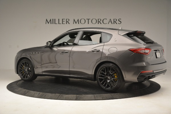 New 2019 Maserati Levante SQ4 GranSport Nerissimo for sale Sold at Alfa Romeo of Greenwich in Greenwich CT 06830 4