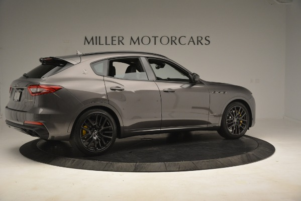 New 2019 Maserati Levante SQ4 GranSport Nerissimo for sale Sold at Alfa Romeo of Greenwich in Greenwich CT 06830 8