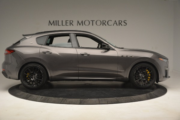 New 2019 Maserati Levante SQ4 GranSport Nerissimo for sale Sold at Alfa Romeo of Greenwich in Greenwich CT 06830 9