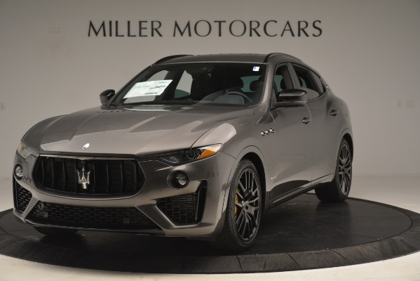 New 2019 Maserati Levante SQ4 GranSport Nerissimo for sale Sold at Alfa Romeo of Greenwich in Greenwich CT 06830 1