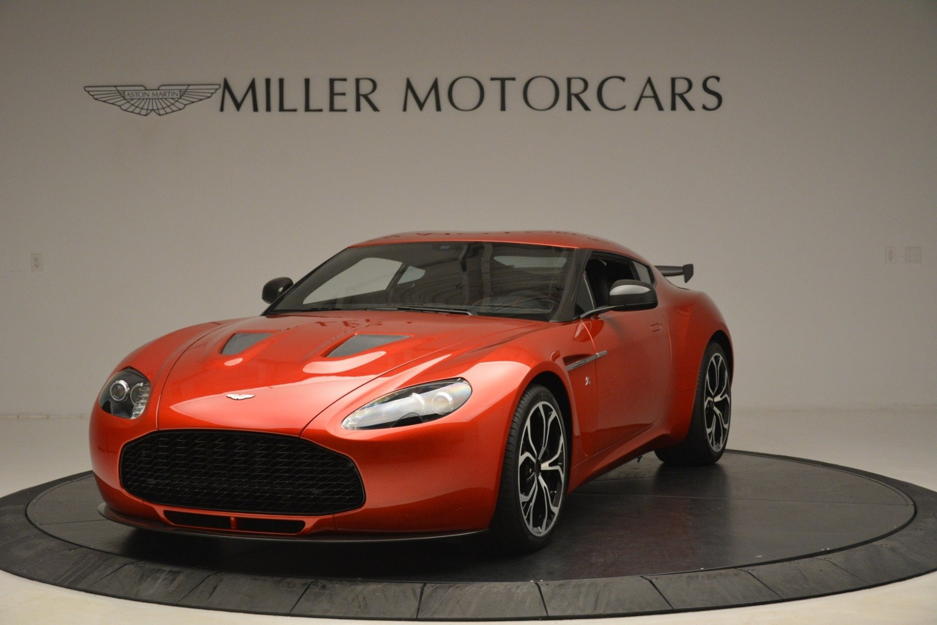 Used 2013 Aston Martin V12 Zagato Coupe for sale Sold at Alfa Romeo of Greenwich in Greenwich CT 06830 1