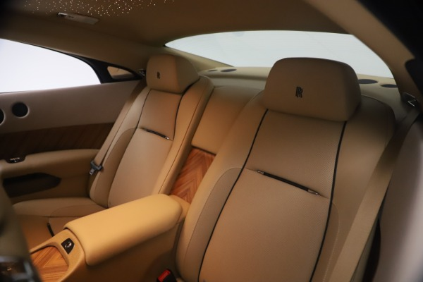 Used 2015 Rolls-Royce Wraith for sale $199,900 at Alfa Romeo of Greenwich in Greenwich CT 06830 22