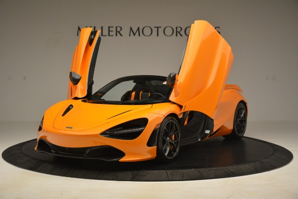 New 2020 McLaren 720S SPIDER Convertible for sale $407,450 at Alfa Romeo of Greenwich in Greenwich CT 06830 10