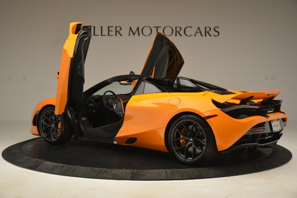 New 2020 McLaren 720S SPIDER Convertible for sale $407,450 at Alfa Romeo of Greenwich in Greenwich CT 06830 11