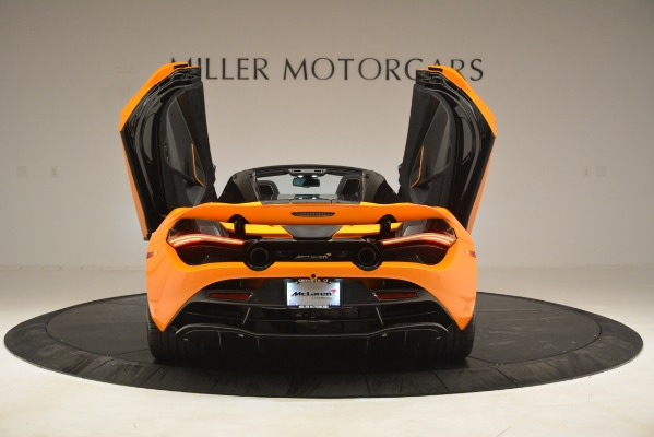 New 2020 McLaren 720S SPIDER Convertible for sale $407,450 at Alfa Romeo of Greenwich in Greenwich CT 06830 12