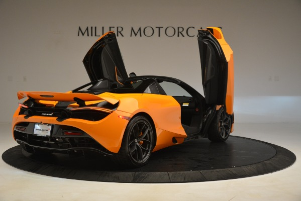 New 2020 McLaren 720S SPIDER Convertible for sale $407,450 at Alfa Romeo of Greenwich in Greenwich CT 06830 13
