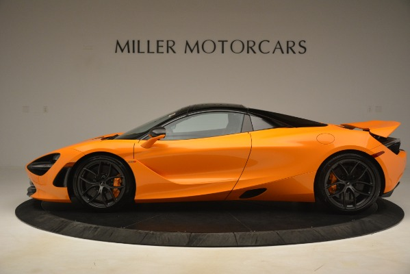 New 2020 McLaren 720S SPIDER Convertible for sale $407,450 at Alfa Romeo of Greenwich in Greenwich CT 06830 18