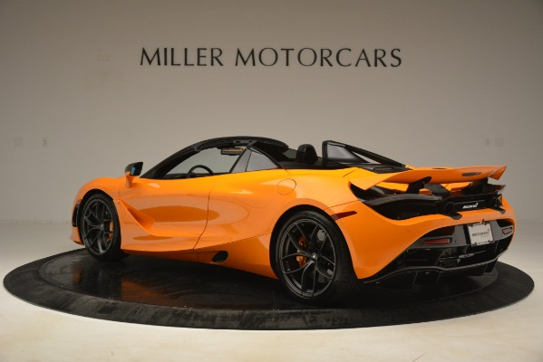 New 2020 McLaren 720S SPIDER Convertible for sale $407,450 at Alfa Romeo of Greenwich in Greenwich CT 06830 2