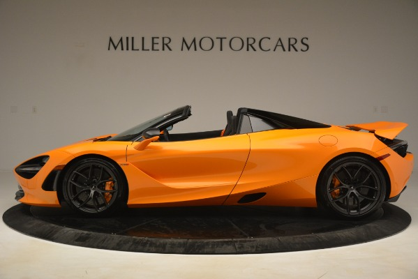 New 2020 McLaren 720S SPIDER Convertible for sale Sold at Alfa Romeo of Greenwich in Greenwich CT 06830 3