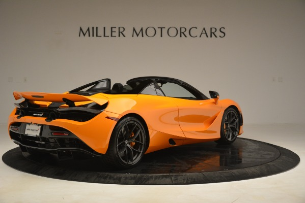 New 2020 McLaren 720S SPIDER Convertible for sale $407,450 at Alfa Romeo of Greenwich in Greenwich CT 06830 5