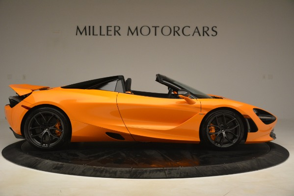 New 2020 McLaren 720S SPIDER Convertible for sale $407,450 at Alfa Romeo of Greenwich in Greenwich CT 06830 6