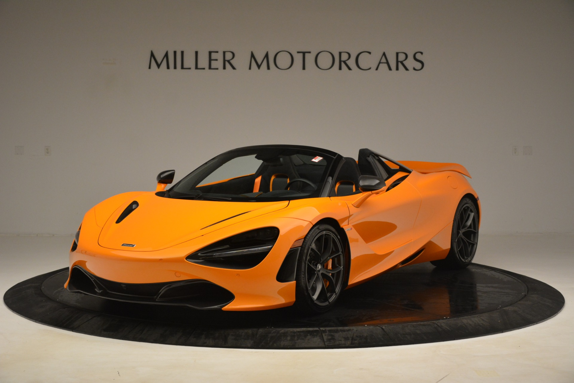 New 2020 McLaren 720S SPIDER Convertible for sale $407,450 at Alfa Romeo of Greenwich in Greenwich CT 06830 1