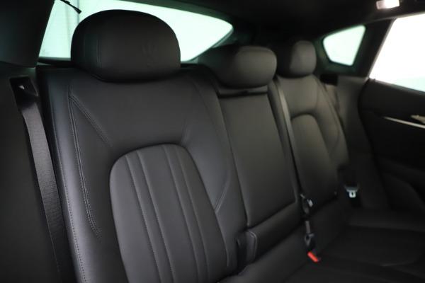 New 2019 Maserati Levante Q4 for sale Sold at Alfa Romeo of Greenwich in Greenwich CT 06830 26