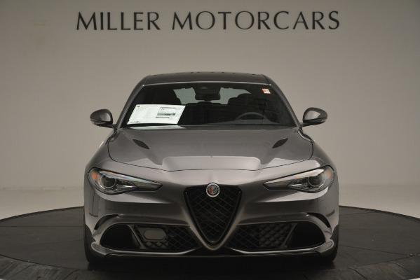 New 2019 Alfa Romeo Giulia Quadrifoglio for sale Sold at Alfa Romeo of Greenwich in Greenwich CT 06830 12