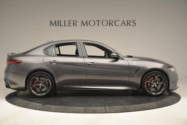 New 2019 Alfa Romeo Giulia Quadrifoglio for sale Sold at Alfa Romeo of Greenwich in Greenwich CT 06830 9