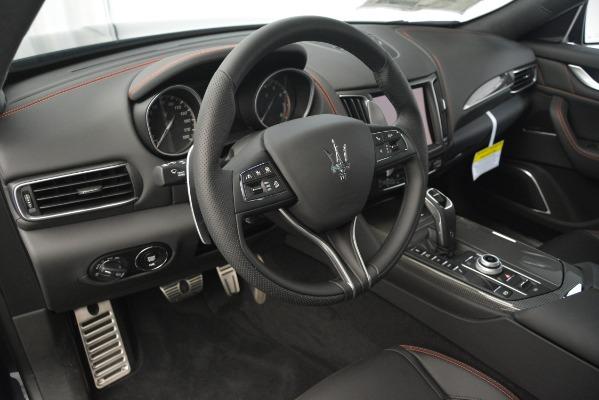 New 2019 Maserati Levante SQ4 GranSport Nerissimo for sale Sold at Alfa Romeo of Greenwich in Greenwich CT 06830 13