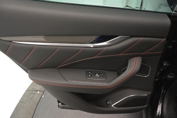 New 2019 Maserati Levante SQ4 GranSport Nerissimo for sale Sold at Alfa Romeo of Greenwich in Greenwich CT 06830 21