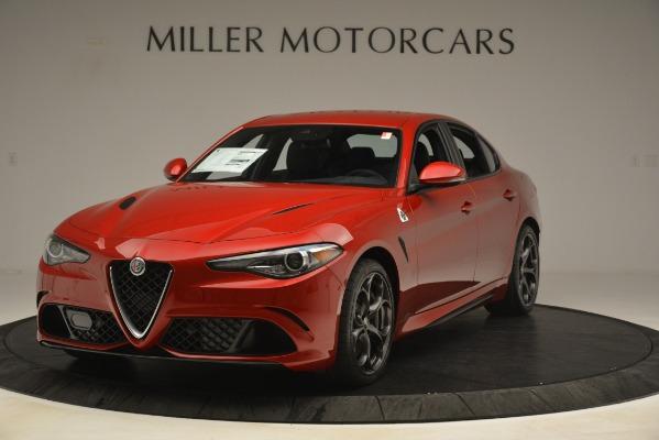 New 2019 Alfa Romeo Giulia Quadrifoglio for sale Sold at Alfa Romeo of Greenwich in Greenwich CT 06830 1