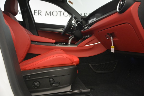New 2019 Alfa Romeo Stelvio Ti Sport Q4 for sale Sold at Alfa Romeo of Greenwich in Greenwich CT 06830 23
