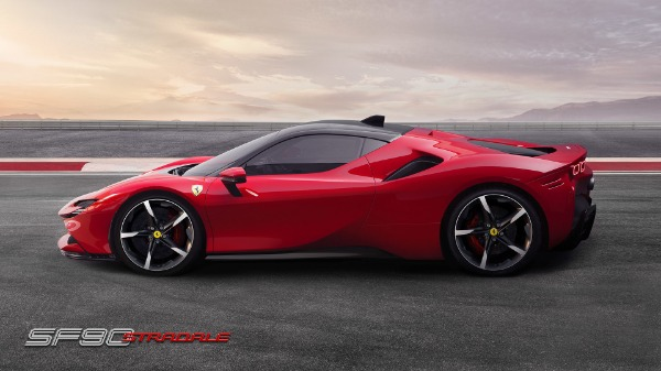 New 2021 Ferrari SF90 Stradale for sale Call for price at Alfa Romeo of Greenwich in Greenwich CT 06830 3