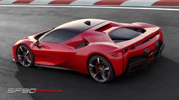 New 2021 Ferrari SF90 Stradale for sale Call for price at Alfa Romeo of Greenwich in Greenwich CT 06830 4