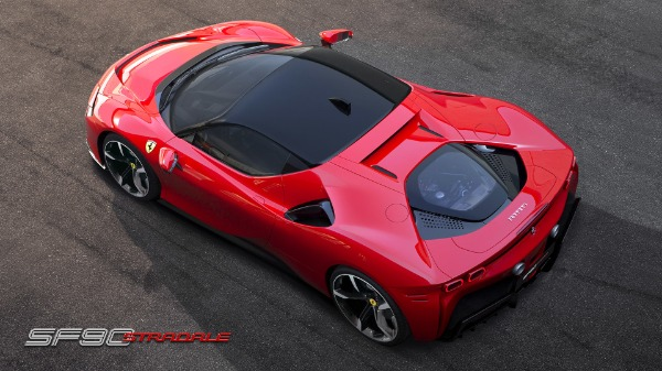 New 2021 Ferrari SF90 Stradale for sale Call for price at Alfa Romeo of Greenwich in Greenwich CT 06830 6