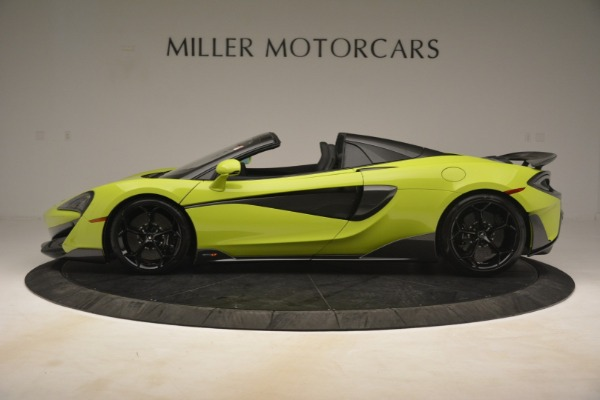 New 2020 McLaren 600LT SPIDER Convertible for sale $281,570 at Alfa Romeo of Greenwich in Greenwich CT 06830 10