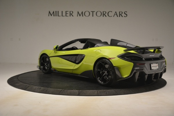 New 2020 McLaren 600LT Spider for sale $281,570 at Alfa Romeo of Greenwich in Greenwich CT 06830 11