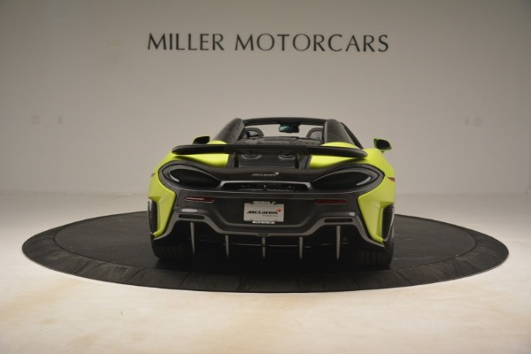 New 2020 McLaren 600LT SPIDER Convertible for sale $281,570 at Alfa Romeo of Greenwich in Greenwich CT 06830 12