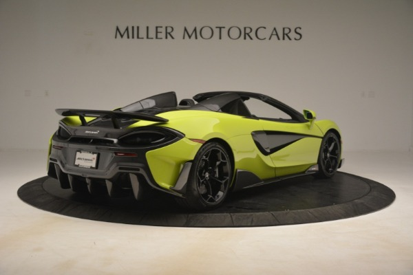 New 2020 McLaren 600LT Spider for sale $281,570 at Alfa Romeo of Greenwich in Greenwich CT 06830 13