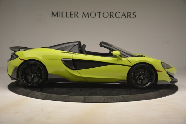New 2020 McLaren 600LT Spider for sale $281,570 at Alfa Romeo of Greenwich in Greenwich CT 06830 14
