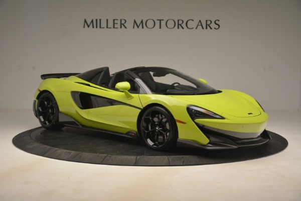 New 2020 McLaren 600LT Spider for sale $281,570 at Alfa Romeo of Greenwich in Greenwich CT 06830 15