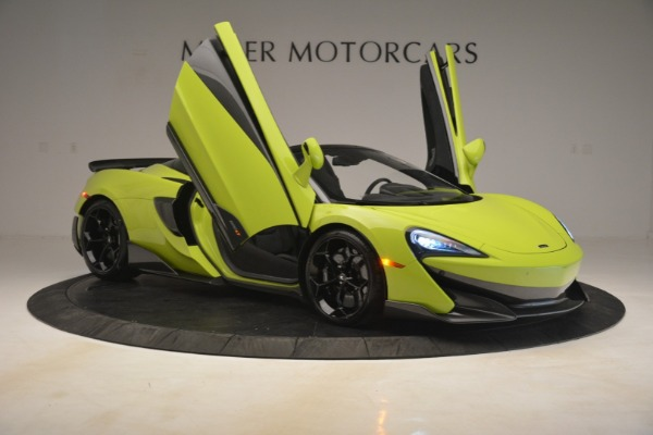 New 2020 McLaren 600LT Spider for sale $281,570 at Alfa Romeo of Greenwich in Greenwich CT 06830 16