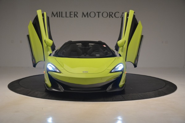 New 2020 McLaren 600LT Spider for sale $281,570 at Alfa Romeo of Greenwich in Greenwich CT 06830 17