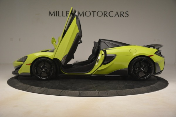 New 2020 McLaren 600LT SPIDER Convertible for sale $281,570 at Alfa Romeo of Greenwich in Greenwich CT 06830 19