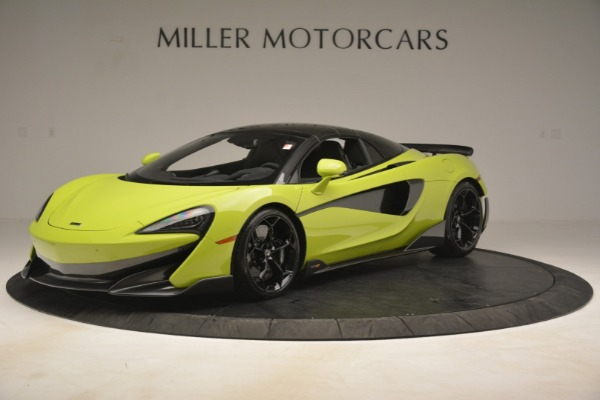 New 2020 McLaren 600LT Spider for sale $281,570 at Alfa Romeo of Greenwich in Greenwich CT 06830 2