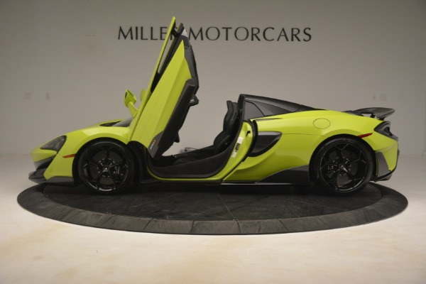 New 2020 McLaren 600LT SPIDER Convertible for sale $281,570 at Alfa Romeo of Greenwich in Greenwich CT 06830 20