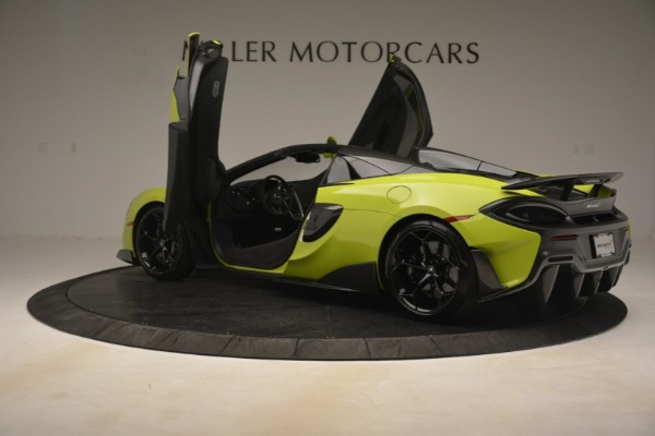 New 2020 McLaren 600LT Spider for sale $281,570 at Alfa Romeo of Greenwich in Greenwich CT 06830 21