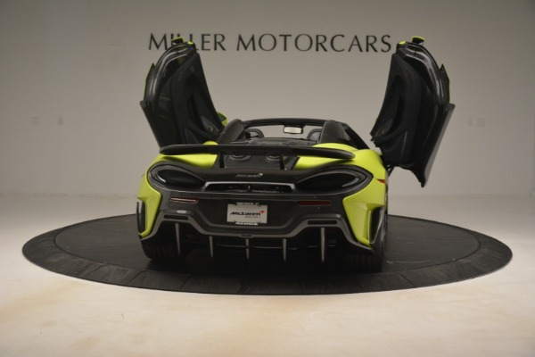 New 2020 McLaren 600LT Spider for sale $281,570 at Alfa Romeo of Greenwich in Greenwich CT 06830 22
