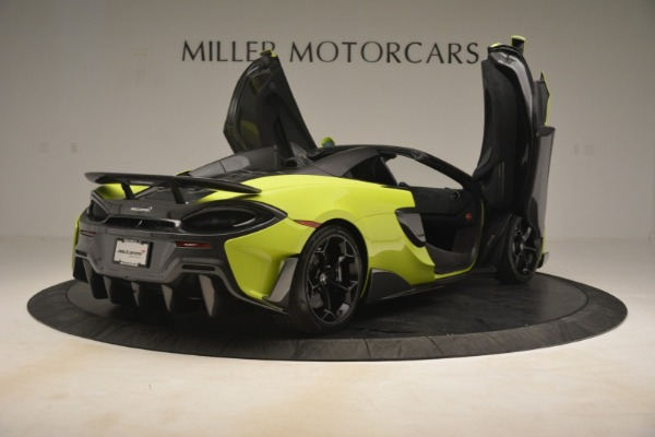 New 2020 McLaren 600LT Spider for sale $281,570 at Alfa Romeo of Greenwich in Greenwich CT 06830 23