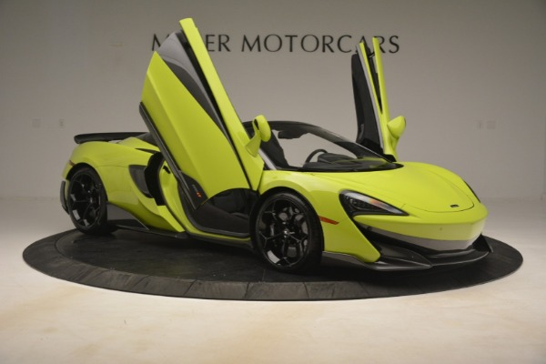 New 2020 McLaren 600LT SPIDER Convertible for sale $281,570 at Alfa Romeo of Greenwich in Greenwich CT 06830 25