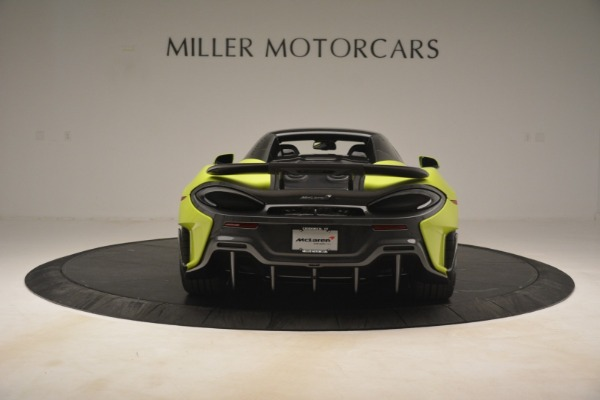 New 2020 McLaren 600LT SPIDER Convertible for sale $281,570 at Alfa Romeo of Greenwich in Greenwich CT 06830 5